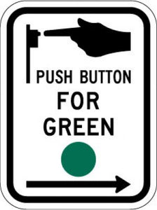 R10-4R Push Button For Green