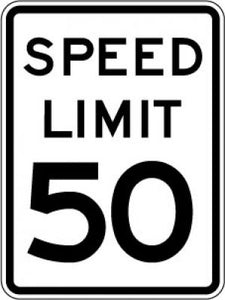 R2-1 Speed Limit (#) - Customizable