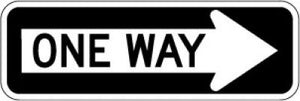 R6-1R One Way Right