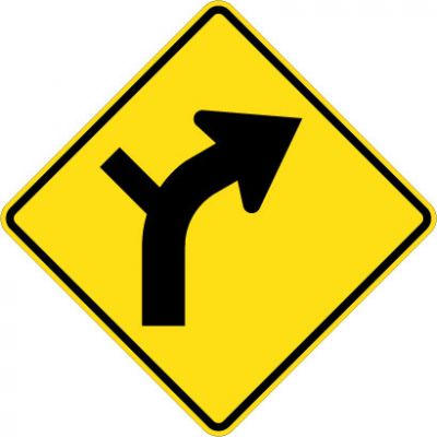 W1-10R Combo Right Curve / Left Intersect