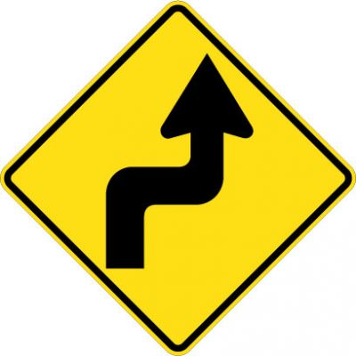W1-3R Reverse Turn Right