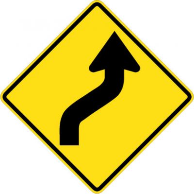 W1-4R Reverse Curve Right