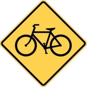 W11-1 Bicycle Traffic
