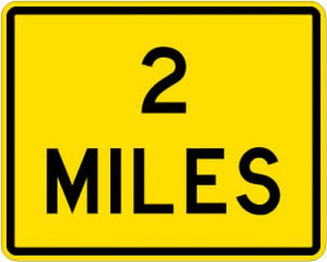W16-3P (Number) MILES - Customizable