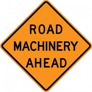 W21-3 Road Machinery