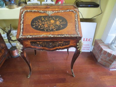FRENCH MARQUETRY LADIES BUREAU  -  SKU102