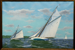 MARINE PAINTING BY RONALD MITCHELL  -  SKU925