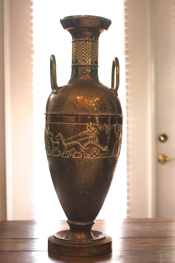 LARGE BRASS URN  -  SKU332