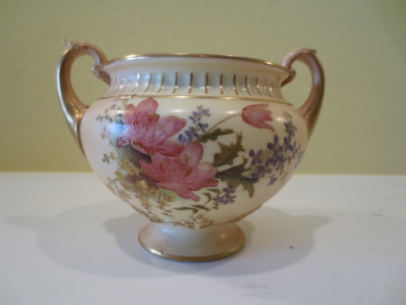 ROYAL WORCESTER BOWL WITH HANDLES  -  SKU210