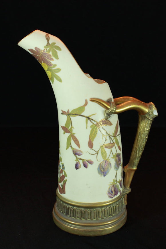 ROYAL WORCESTER LARGE TUSK ICE JUG  -  SKU312