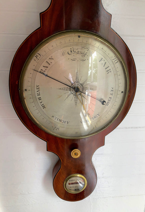 ENGLISH VICTORIAN BAROMETER  -  SKU503