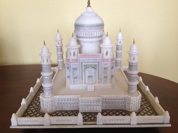 ALABASTER MODEL OF TAJ MAHAL  -  SKU138