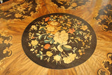 HIGH QUALITY MARQUETRY ENGLISH LOO TABLE C1800  -  SKU104