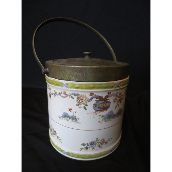 ROYAL WORCESTER REGENCY WARE BISCUIT JAR  -  SKU294