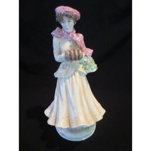 "ROYAL WORCESTER ""WINTER"" FIGURE BY MAUREEN HALSON  -  SKU303"