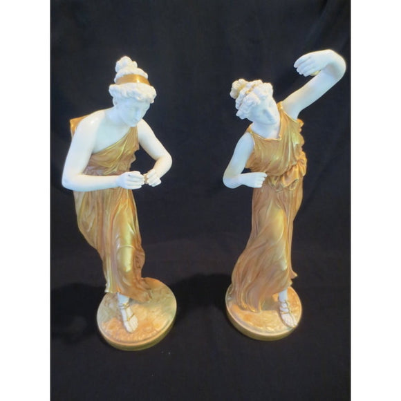 ROYAL WORCESTER FEMALE FIGURES