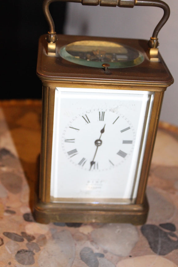 REPEATER CARRIAGE CLOCK BY DENT LONDON  -  SKU511