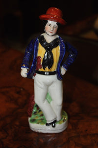ENGLISH STAFFORDSHIRE FIGURINE  -  SKU475