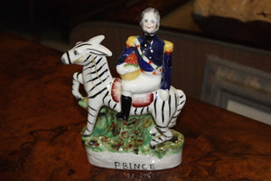 ENGLISH STAFFORDSHIRE FIGURINE P BINCE  -  SKU477