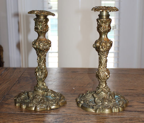 BRASS CANDLESTICKS  -  SKU264
