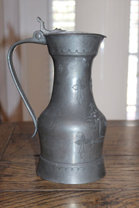 LARGE PEWTER JUG  -  SKU714