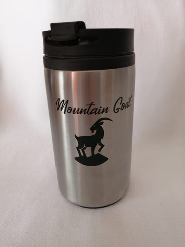 Mountain Goat Travel Coffee Cup