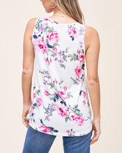 Load image into Gallery viewer, FLORAL PRINT TANK TOP - K&E FASHIONS