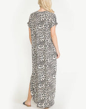 Load image into Gallery viewer, JAZZIE LEOPARD MAXI DRESS