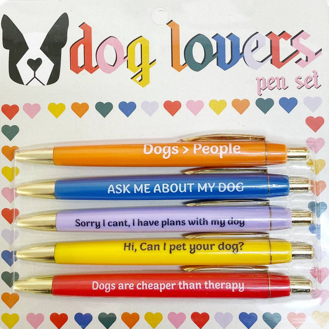 DOG LOVERS PEN SET