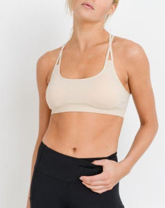 JUSTINE O-RING RACERBACK SPORTS BRA
