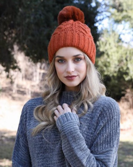 KULU THERMAL CABLE KNIT BEANIE