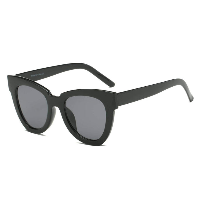 CABANA ROUND CAT EYE FASHION SUNGLASSES - K&E FASHIONS