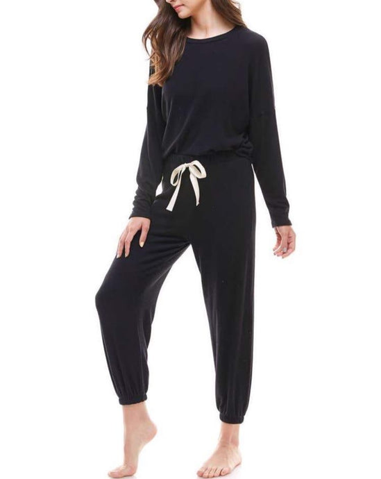 KATIE LONG SLEEVE LOUNGEWEAR SET