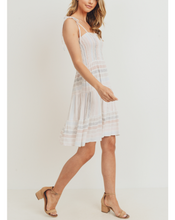 Load image into Gallery viewer, LAYLA SMOCKED TIERED DRESS