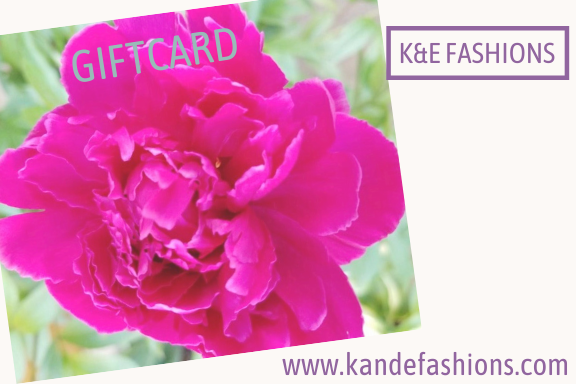 Gift Card - K&E FASHIONS