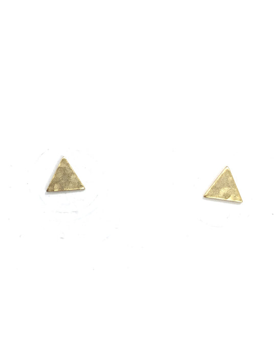 TRIANGLE STUD EARRINGS - K&E FASHIONS