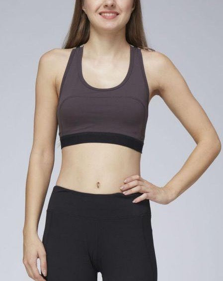 ZOLA CROSS-STRAP SPORTS BRA