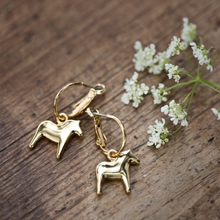 Load image into Gallery viewer, Dala Horse earrings by Anna Viktoria