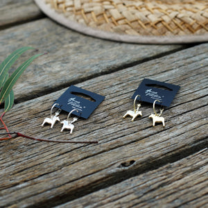Dala Horse earrings by Anna Viktoria