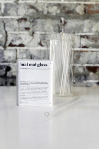 Handmade Glass Straw