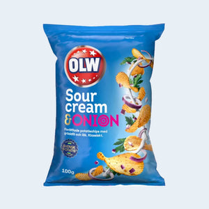Swedish Chips OLW / Sour Cream & Onion
