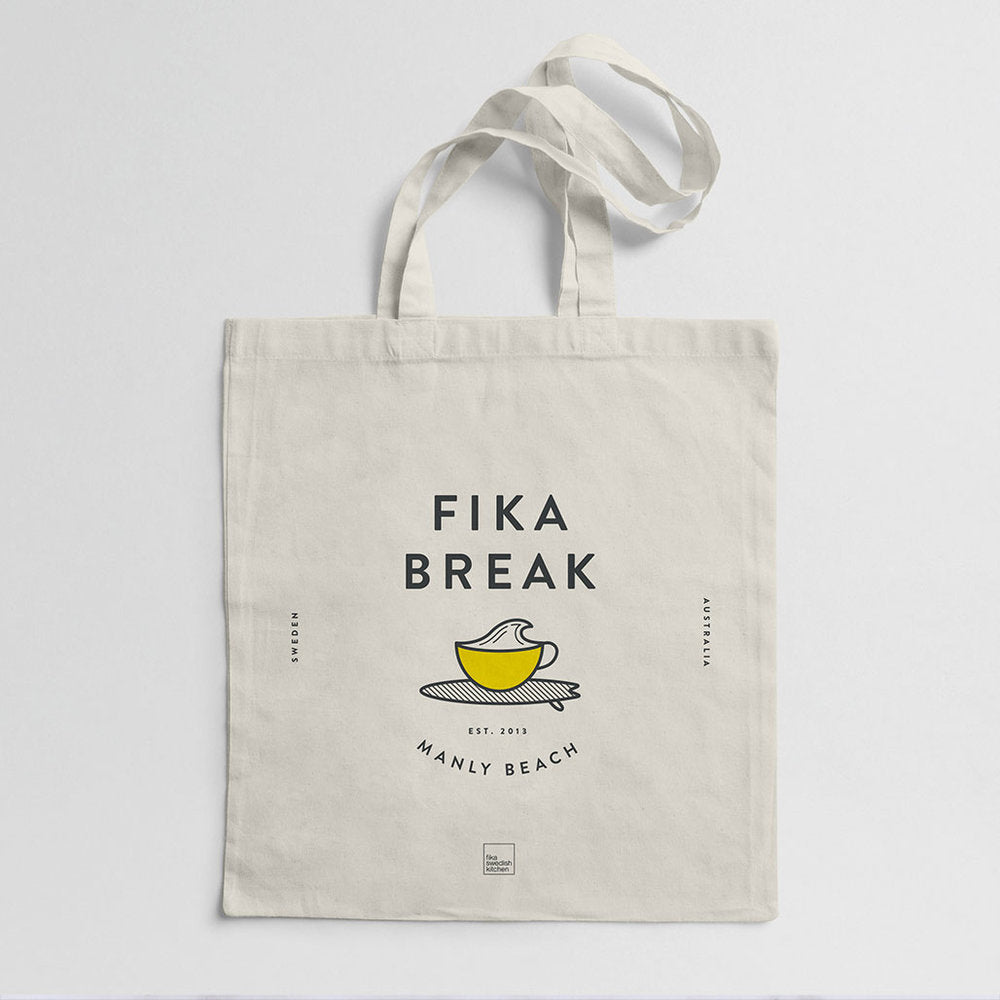 'Fika Break' Tote Bag – Manly Beach