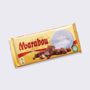 Marabou Salted Almonds Chocolate - 200g