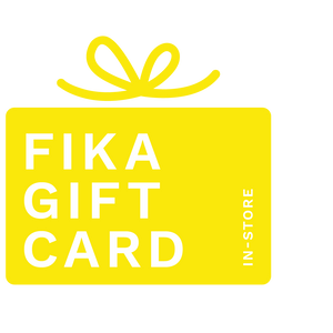Gift card to be used in store