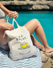 Load image into Gallery viewer, 'Fika Break' Tote Bag – Manly Beach