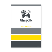 Load image into Gallery viewer, frukost fil poster