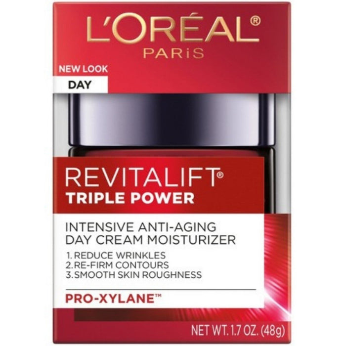 L'Oreal RevitaLift Triple Power Intensive Anti-Aging Moisturizer 1.70 oz (Pack of 2)