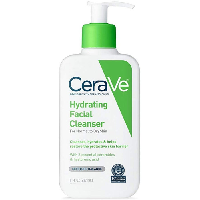 Hydrating Facial Cleanser, 8 oz - (Pack of 4)