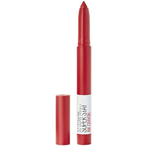 Maybelline SuperStay Ink Crayon Lipstick, Matte Longwear Lipstick Makeup, Hustle In Heels