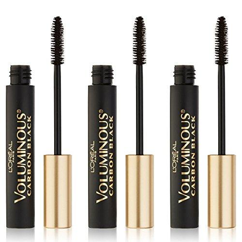 L'Oreal Paris Voluminous Original Mascara, Carbon Black, 3 Count